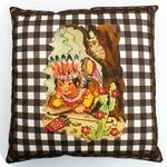 cushion -  indian (incl. pillow)  40cm x 40cm