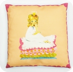 cushion -   Princess on the pea (excl. pillow)  40cm x 40cm
