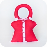 Rattle Dress - Red